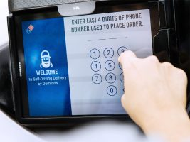 Dominos's Pizza, pizza delivery, self-driving vehicles