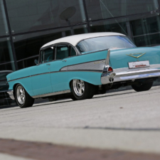 1957er Chevrolet Bel Air 4-Door Sedan