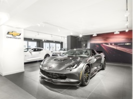 Exklusiver Cadillac Showroom