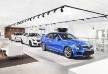 Exklusiver Cadillac Showroom