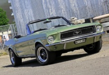1968er Ford Mustang Convertible