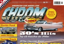 Cover CHROM & FLAMMEN 06/2018