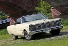 1966er Ford Galaxie 500 Convertible