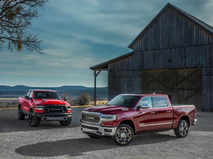 Rückrufe Dodge und RAM Fahrzeuge