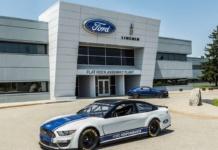 Mustang NASCAR Cup Rennwagen