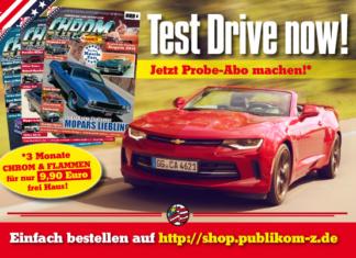 Test Drive now! Das CHROM & FLAMMEN Probe-Abo