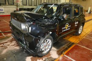Der Jeep Renegade bekommt im Euro-NCAP-Crashtest lediglich eine Drei-Sterne-Wertung