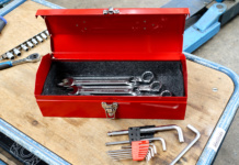 Toolbox im Retro-Design