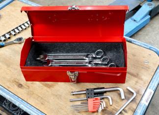Toolbox im Retro-Design