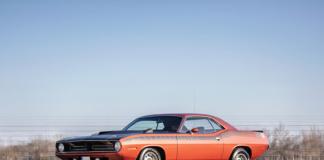 1970er Plymouth AAR Cuda