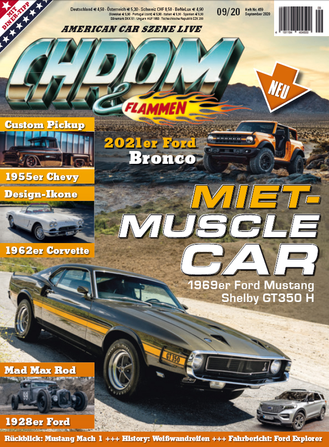 Cover CHROM&FLAMMEN Ausgabe 9/2020