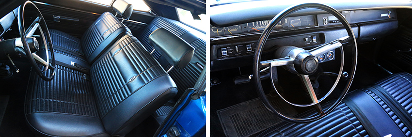 Interieur Plymouth Road Runner