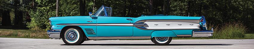 1958er Pontiac Parisienne Convertible