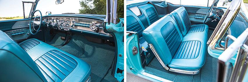 Innenraum 1958er Pontiac Parisienne Convertible