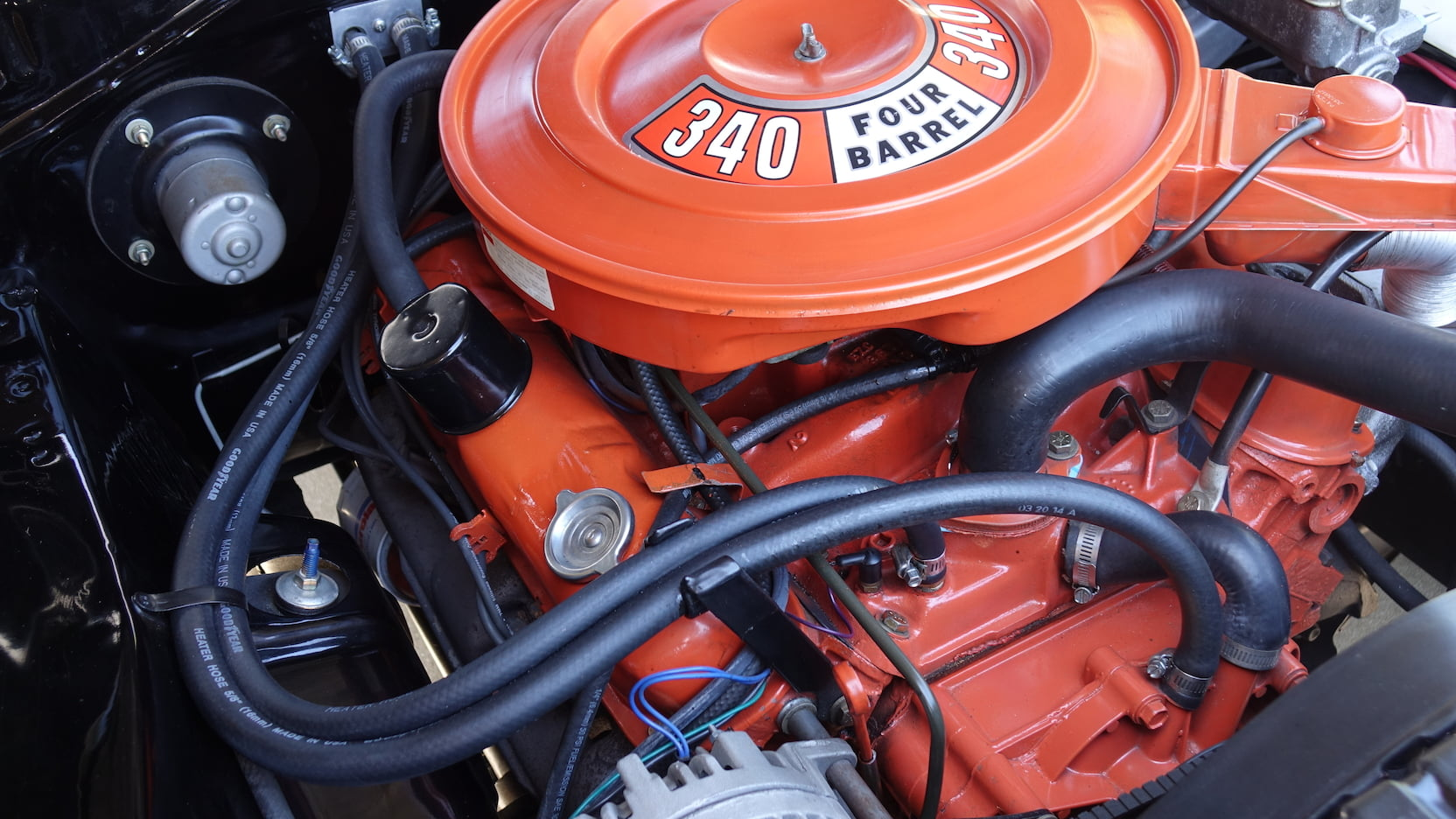 Dodge Demon V8-Motor