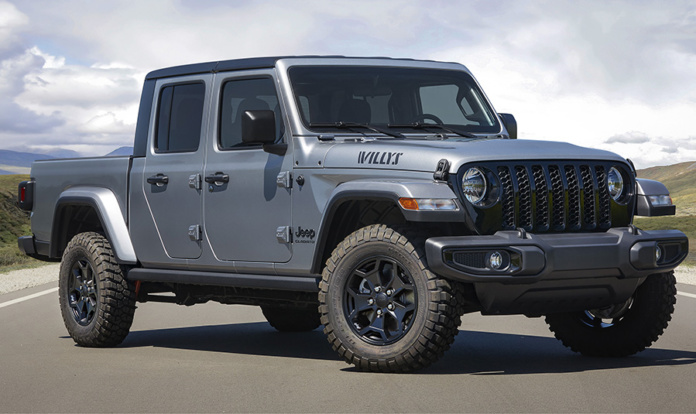 2021 Jeep® Gladiator Willys front 3/4