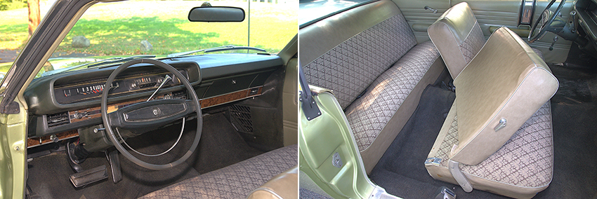 FordGalaxie Interior