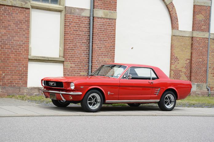 1966er Ford Mustang Hardtop Coupé