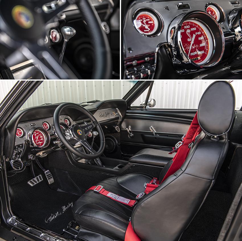 Interieur 1967er Classic Recreations Mustang